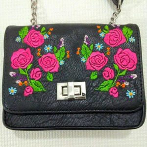 art class Accessories - Crossbody Bag Embroidered Roses